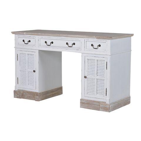 Newport White Washed Desk Desk Furniture White Painted Desk