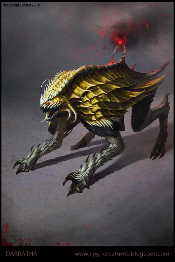 """Darratha - ex-demon concept"" by Cloister.deviantart.com on @DeviantArt"