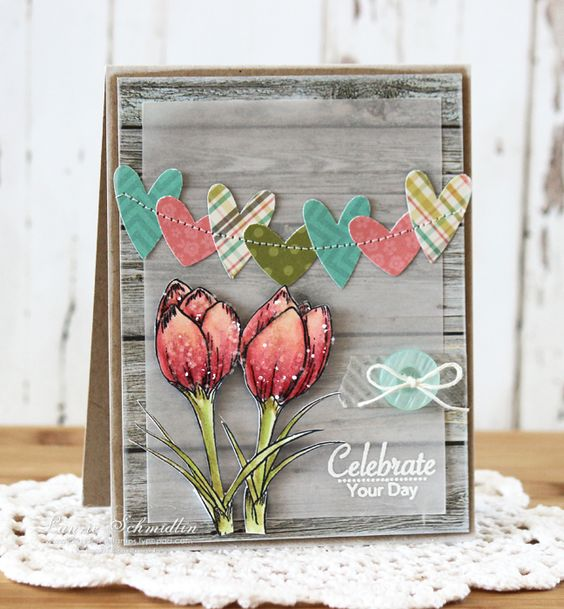 Card by Laurie Schmidlin  (021814)  [Gina K Designs Signs of Spring by Theresa Momber]