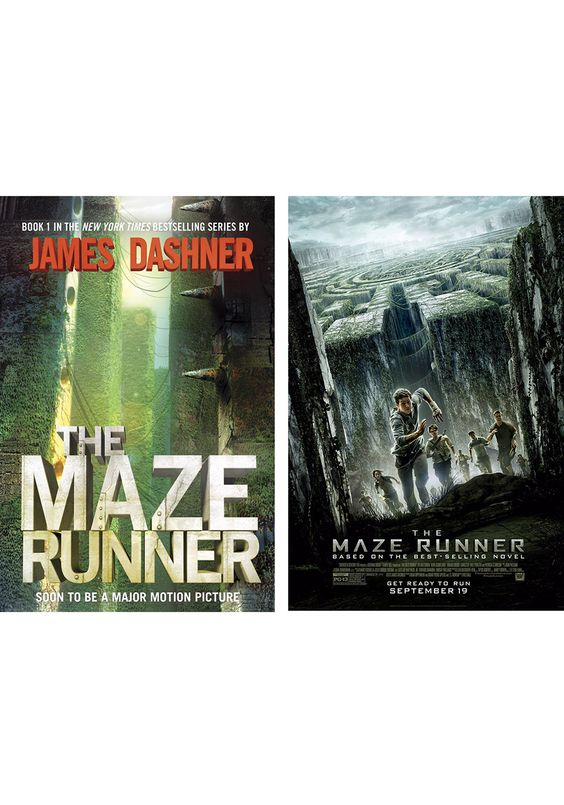 Read the book for that rare and oh-so-satisfying pleasure of being able to tear though 375 pages in one night. Think of it as popcorn for your imagination. #booksintomovies #themazerunner