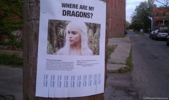 Game of Thrones Meme – Lost Poster