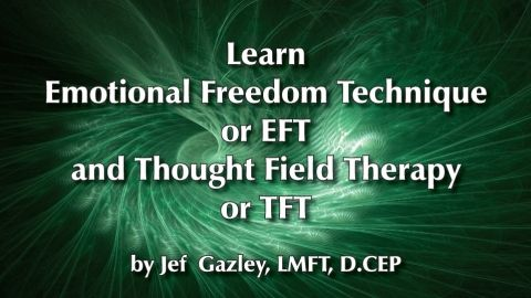 Learn Emotional Freedom Technique and Thought Field Therapy - This course contains lecture and video demos to learn these techniques, and they are for anyone. including clinicians. - $65
