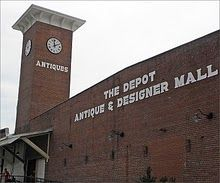 largest antique mall in the south the depot at gibson mill concord nc design pinterest. Black Bedroom Furniture Sets. Home Design Ideas