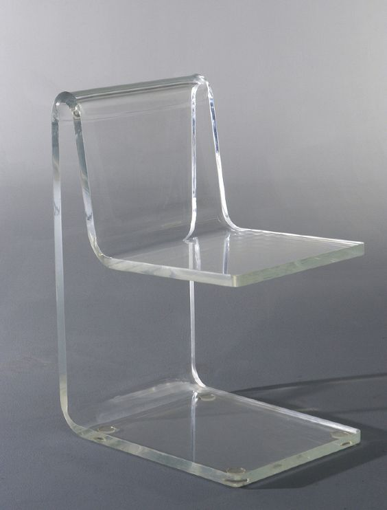 jean dudon plexiglass side chair 1968 furniture pinterest jeans cha. Black Bedroom Furniture Sets. Home Design Ideas