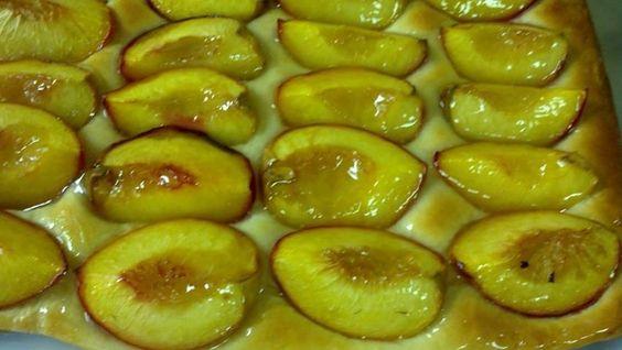 Woodlea Bakery Peach Cake Recipe
