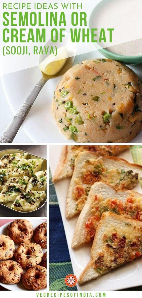rava recipes | 35 sooji recipes | sweets and snacks made with semolina