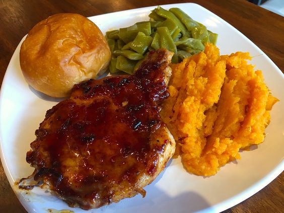 Raspberry chipotle sauce, Chipotle sauce and Mashed sweet potatoes on ...
