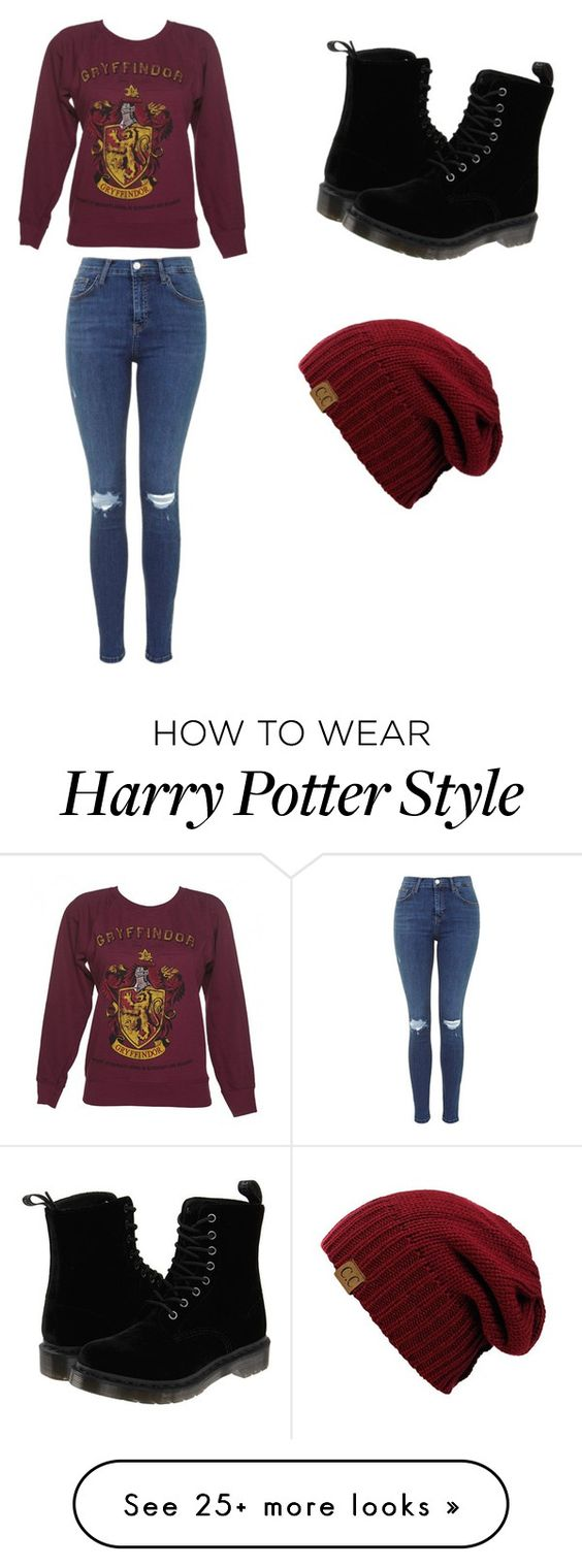 """""""Harry Potter"""" by leeleeboo13 on Polyvore featuring Dr. Martens"""