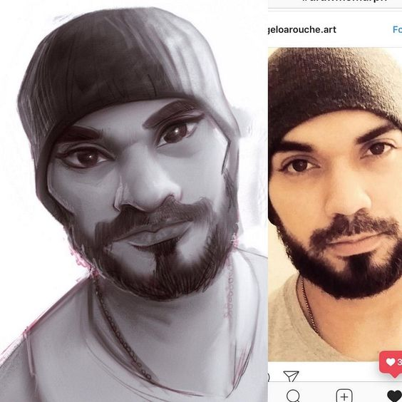 Quando um ilustrador decide agradecer seus seguidores no Instagram de forma criativa - O ilustrador Tyson Murphy decidiu agradecer seus seguidores de forma muito criativa: transformando suas fotos em ilustrações.