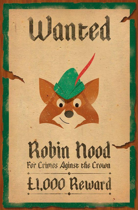 Robin Hood Wanted Posters Funny | Robin Hood | Robin Hood Party