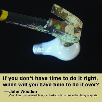 John Wooden quote Lisa Lillibridge dakota 1966