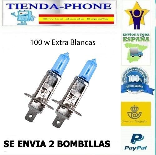 2x Bombillas Lampara Halogenas H1 Luz Blanca 100 W 12 V Tipo Xenon Hid Bombilla Https Tuchollo Online Lamparas Halogenas Bombilla De Luz Bombillas