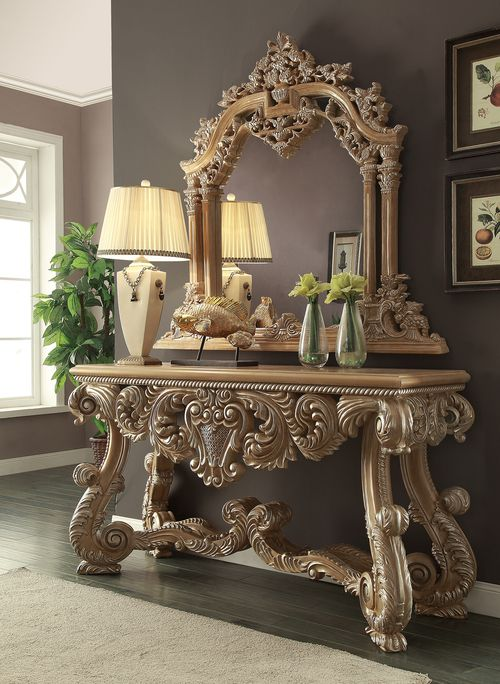 Grandeur Console Table Royal Furniture Furniture Victorian Bedroom