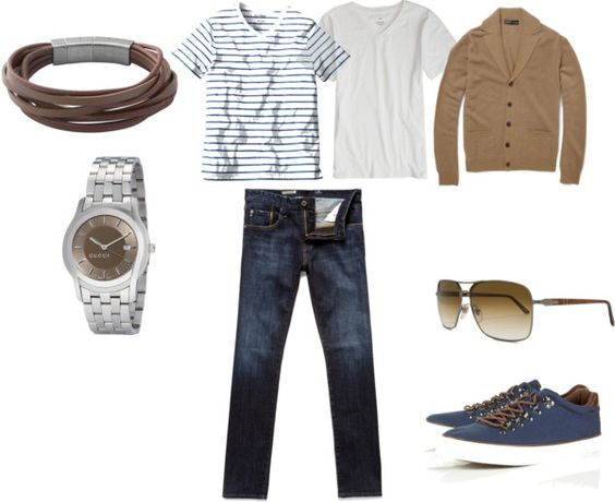 Men, created by banueloscc on Polyvore