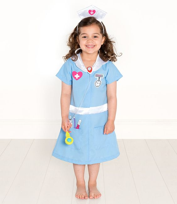 Be a nurse: Hair Models, Nurses, Fancy Dress, Nurse Uniforms, Costume, Pretend Play, Gift Giving Lily