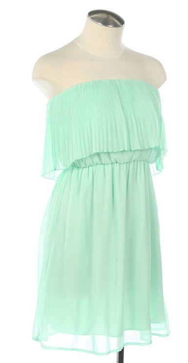 Love this mint dress!!