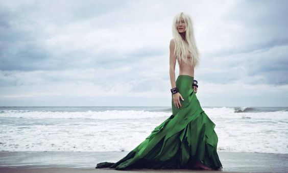 Elena Potapova is A Marvelous Mermaid in Haute Living Magazine, Lensed by Danny Christensen