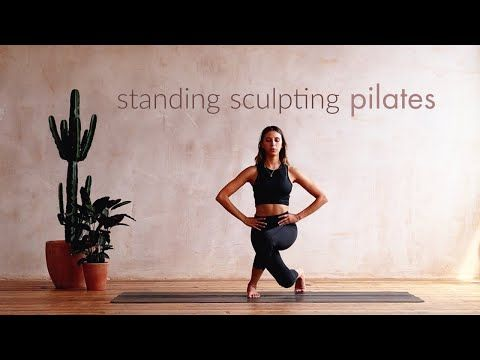 Sculpting Standing Balance Pilates Routine 14 Minute Workout Youtube Pilates Routine Pilates Whole Body Workouts
