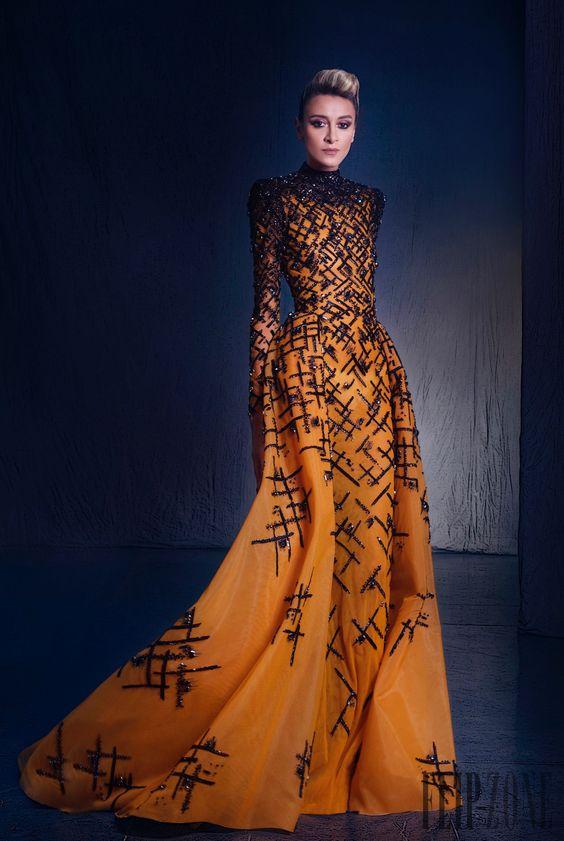 """Nicolas Jebran """"Nostalgia"""", A-H 2015-2016 - Haute couture - http://fr.flip-zone.com/Nicolas-Jebran-5960:"""