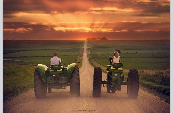 Follow the dirt path...