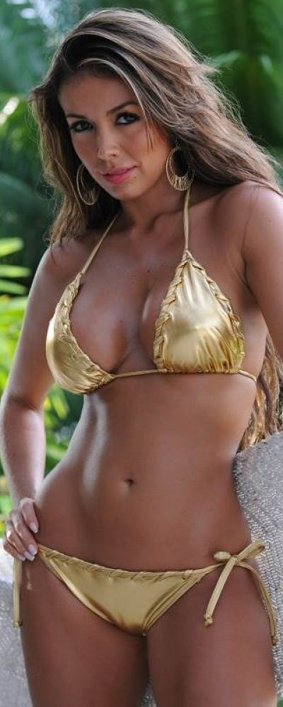 Sexy designer bikini and