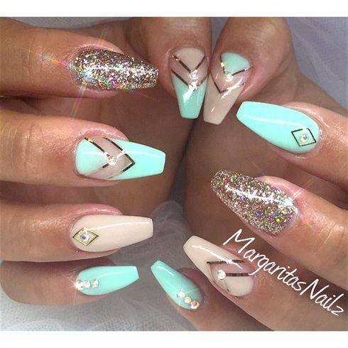 Spring Nails by MargaritasNailz from Nail Art Gallery