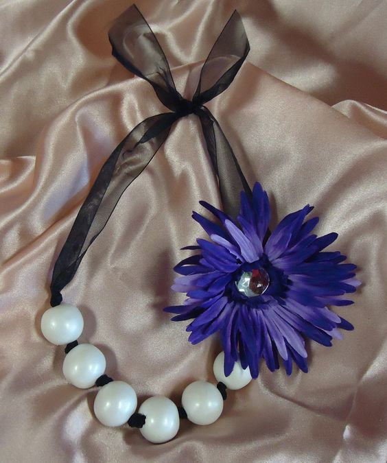 KatieLee #3 Designer Boutique Favors.  Gumball Necklace & Hair Clip. Kosher Gumballs! $5.99 ea FREE SHIPPING