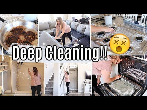 Satisfying Deep Clean With Me 2019 Fall Speed Cleaning