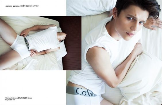 Nikita Berezin by Marjorie Guindon for Male Model Scene