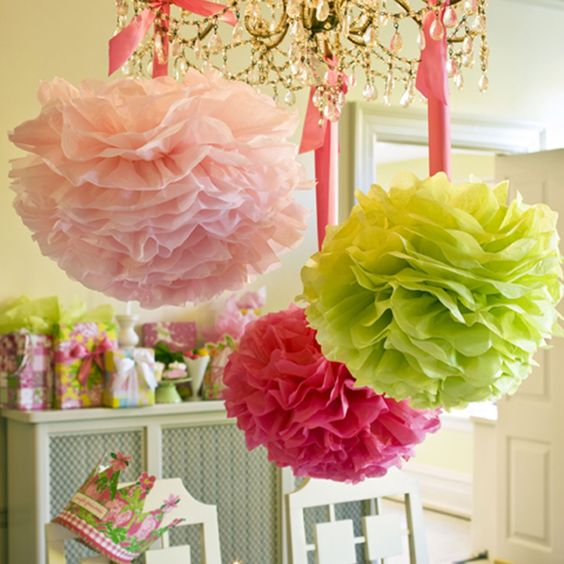 party poms - so fun!