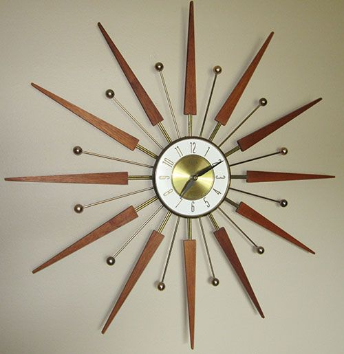 Elgin-Starburst-clock. On my Christmas wish-list, and widely available on eBay!