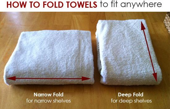 25 Home Hacks That Changed Our Lives In 2015 Bath How To Fold