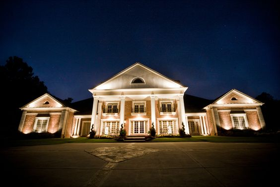 Premier Example of Estate Lighting (Outdoor Lighting) - Signature Custom Accent Lighting, Designed and Installed by Outdoor Advantage
