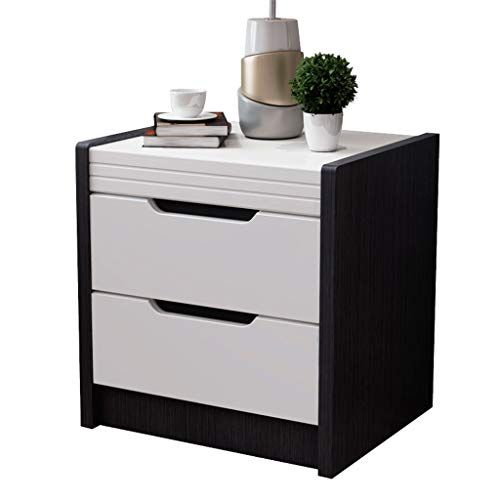 Side Table Bedside Table Simple Modern Black Paint Free Matte