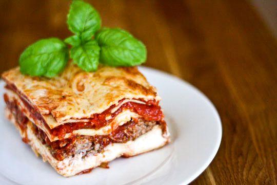 Beef Lasagna #beef #pasta