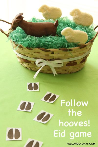 """Eid al Adha """"Follow the Hooves"""" Game by Hello Holy Days!"""