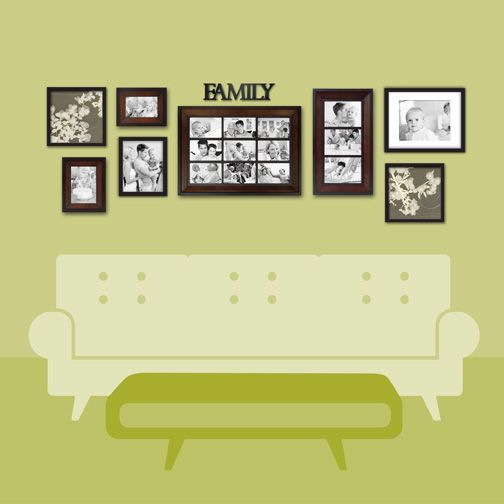 Fine Wall Picture Arrangement Ideas Collection - Wall Art ...