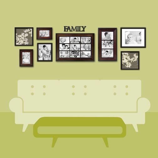 Unique Wall Picture Frame Arrangement Ideas Collection - Wall Art ...
