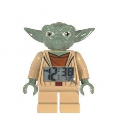 RELOJ DESPERTADOR LEGO YODA
