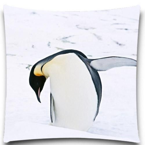 Emperor Penguin Throw Pillow Covers 8 Styles Creative Pillows Creative Pillow Cases Throw Pillow Covers