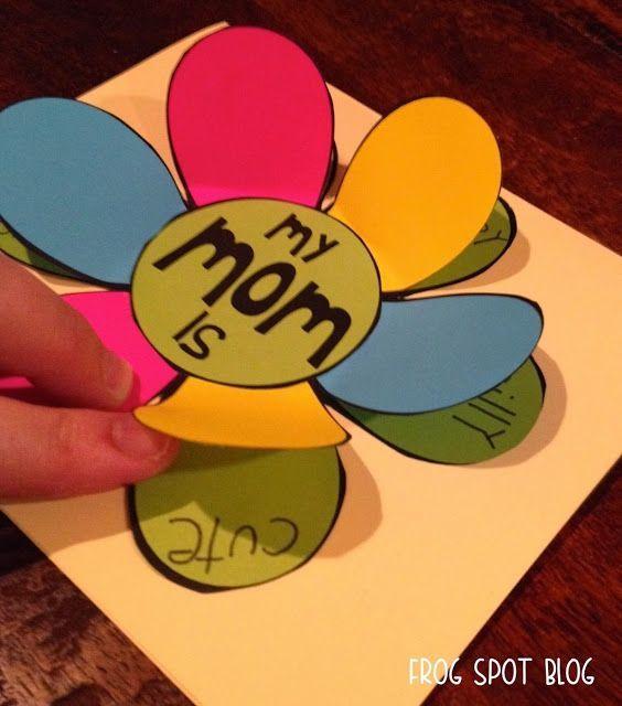 Mother's Day Card Idea | #FromThePond #TeacherTips #MothersDayCard #SchoolCards #MothersDayCardIdea #Craftivity #CraftsInTheClassroom