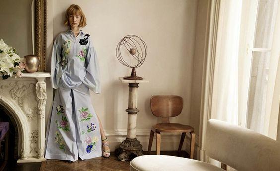 Blumarine 2016 Spring/Summer Campaign, Lou Schoof by Inez & Vinoodh