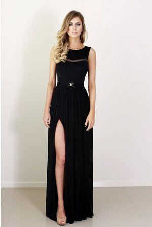 Krista Hochwallner Grace Black Silk Gown AUD $660.00 The Grace ...