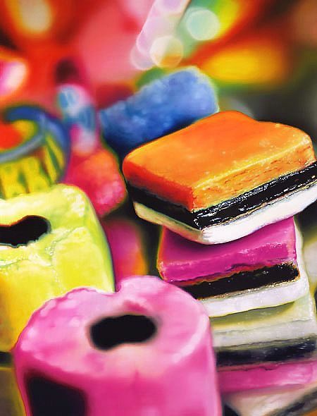 Sweet success of modern art -- Sarah Graham's photo-realistic oil paintings | Pinewood Design