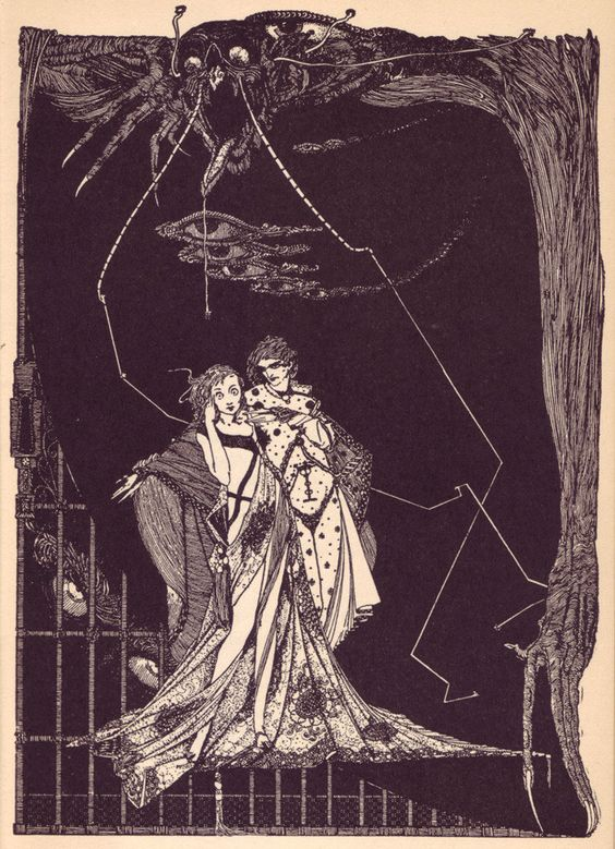 Harry Clarke's Looking Glass | The Public Domain Review