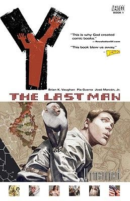 Y: The Last Man, Vol. 1: Unmanned - Click to reserve here ... http://appalachian.nccardinal.org/eg/opac/record/890851?query=Y%20The%20Last%20Man;qtype=title;locg=1