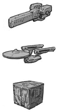 Spaceship Design (EXACTLY what I've been looking for, before I started looking for it)
