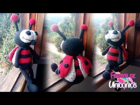 Amigurumi Pattern - Dotty the Ladybug - English Version (mit ... | 360x480