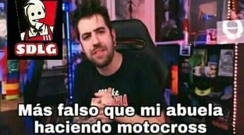 Mas Falso Que Mi Abuela Haciendo Motocross Memes Memes