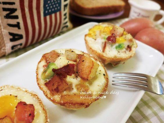 彩色薯薯蛋